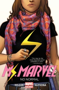 ms marvel no normal cover