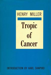 tropic of cancer cover