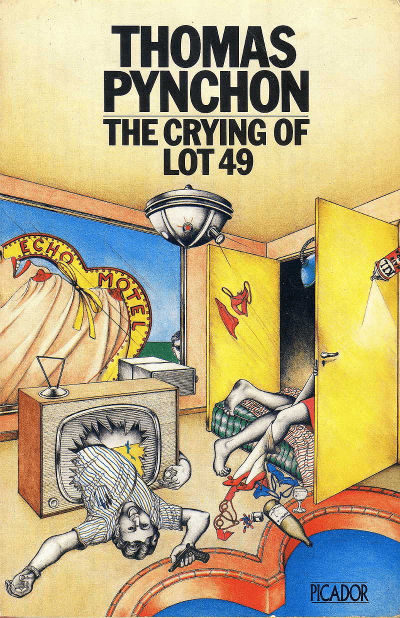 the multiple traits of oedipa in the crying of lot 49 a novella by thomas pynchon In the crying of lot 49, thomas pynchon presents a postmodern society of a huge replication of puzzling, yet, entropic symbols and ciphers, which result in an immense number of interpretations and meanings.